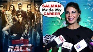 Jacqueline Fernandez PRAISES Salman For Made Her Career | Reaction On Race 3