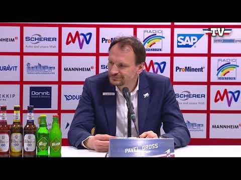 Pressekonferenz: Adler Mannheim - Kölner Haie