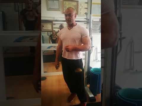 Estiramientos para bíceps y tríceps