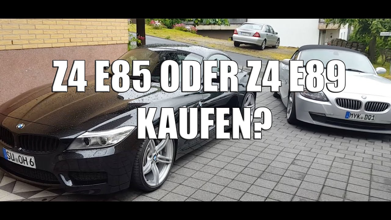 bmw z4 e85 oder bmw z4 e89 kaufen youtube. Black Bedroom Furniture Sets. Home Design Ideas