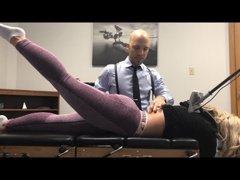 Nursing Student's SPINE ERUPTION ~ First Time Full Body Chiropractic Adjustment. thumbnail