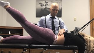 Download Nursing Student's SPINE ERUPTION ~ First Time Full Body Chiropractic Adjustment. Mp3 and Videos