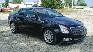 2009 Cadillac CTS Premium Collection AWD Sedan For Sale Dayton Troy Piqua Sidney Ohio | CP14136