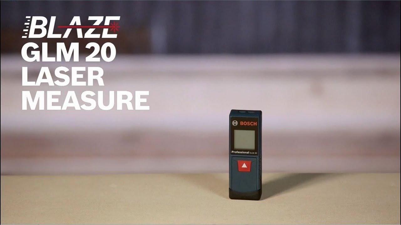 Medidor de Distancia a Láser GLM 40 Professional - YouTube