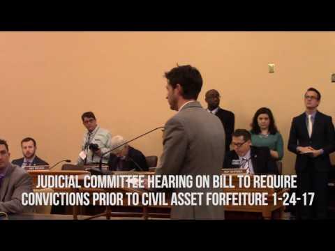 Kansas House Judicial Committee Hearing on Civil Asset Forfeiture (Full)