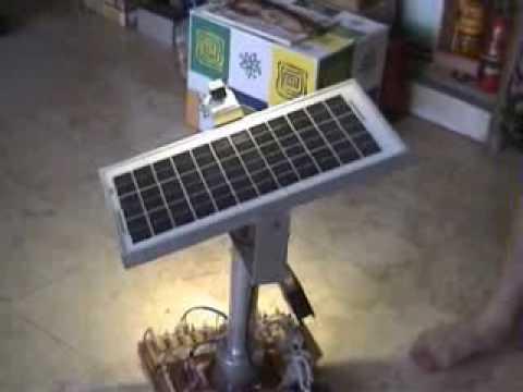 Solar Tracker With Multiphase Pentagon Stepper Motor