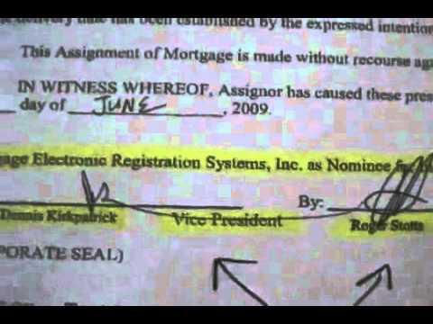 Bank Mortgage Fraud... Assignment Transfer Fraud.flv