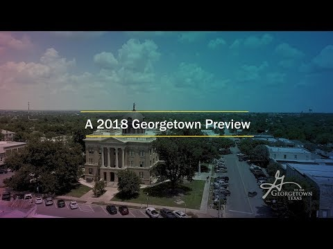 What's In Store For Georgetown Texas in 2018?