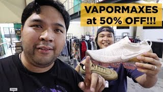 SCORED NIKE VAPORMAXES AT 50% OFF (Wasakan ng Wallet: Riverbanks Outlets Edition)