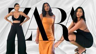 HUGE ZARA TRY ON HAUL | COPYING ZARA MODELS OUTFITS | NOORIE ANA