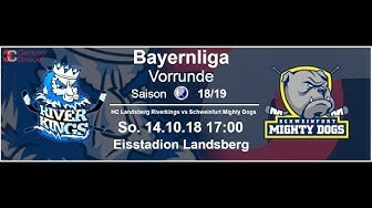 HC Landsberg vs ERV Schweinfurt (14.10.2018)