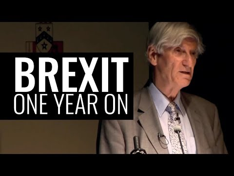 Britain and the EU: In or Out - One Year On - Professor Vernon Bogdanor FBA CBE
