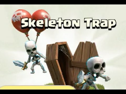 New AIR Skeleton Traps (Lvl 2) - Clash of Clans Update