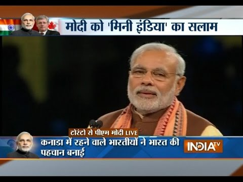 PM Modi's Canada Visit: Together India and Canada can Write the History of Development - India TV