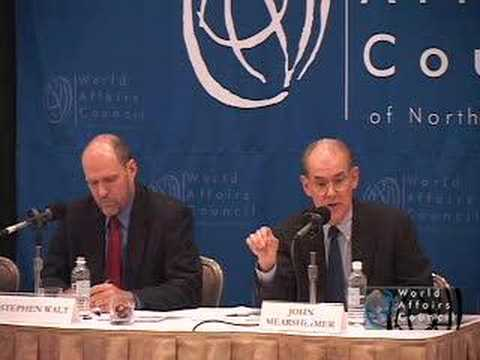 Stephen Walt, John Mearsheimer on The Israel Lobby In Brief