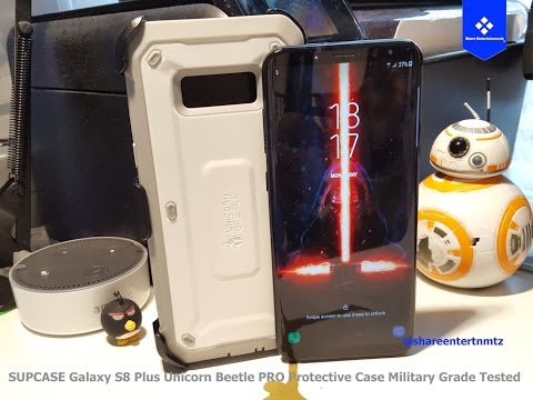 finest selection e07e5 98778 SUPCASE Galaxy S8 Plus Unicorn Beetle PRO Protective Case Military Grade  Tested #2 (Unboxing)