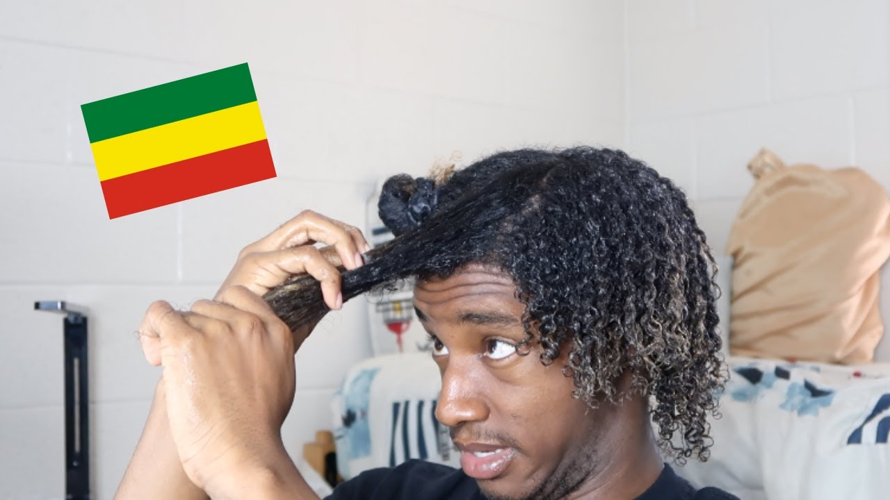 Trying Ethiopian Curly Hair Routine I Went To Ethiopia Youtube
