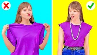 كوني للأناقة عنوان! || نصائح سريعة للملابس وإصلاح أي مشكلة في الأزياء