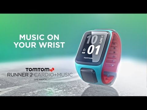TomTom sportwatch Runner 2 Cardio + Music