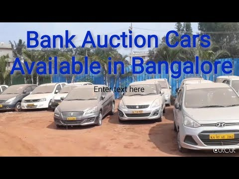 Second Hand (Bank) Auction cars available in Bangalore Whitefield.
