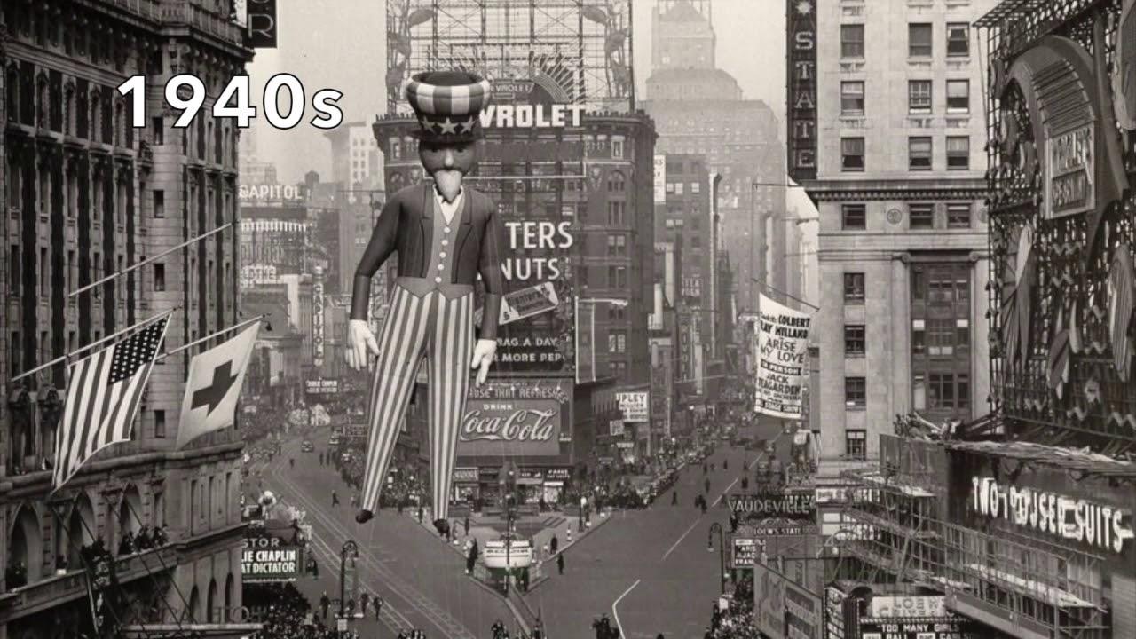 Vintage Macys Thanksgiving Day Parade