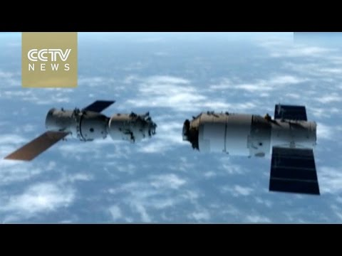 How will Shenzhou-11 spacecraft dock with Tiangong-2 space lab