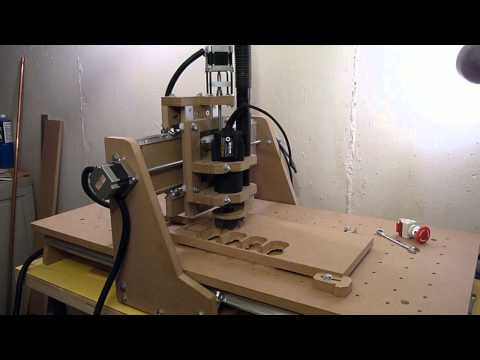 Homemade DIY CNC Router Cutting E-S Box