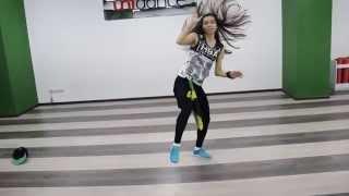 Танцевальная студия Unidance: Бесплатный урок Dancehall от Анастасии Скрундь