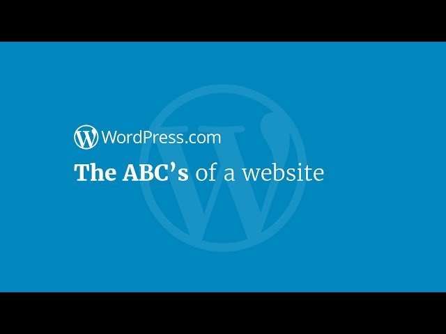 The ABCs of a Website
