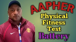 AAPHER YOUTH PHYSICAL FITNESS TEST