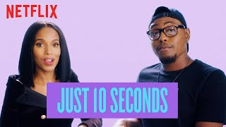 Kerry Washington Gets Quizzed on Black Pop Culture | American Son | Netflix