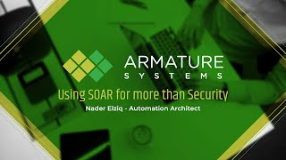 Using SOAR for more than just Security