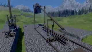 Medieval Engineers - Trebuchet. It's Seige Time Boys!