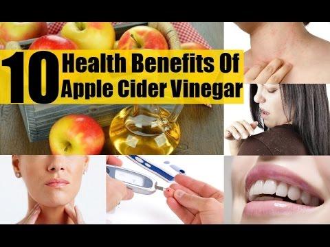 Top 10 Health Benefits of Apple Cider Vinegar