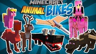 MINECRAFT: ANIMAL BIKES - TUTORIAL MINECRAFT MOD #30