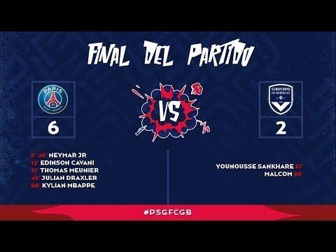 Download PSG vs Bordeaux 6-2 RESUMEN y GOLES HIGHLIGHTS & ALL GOALS 30/09/2017 [HD]Goals & Highlights