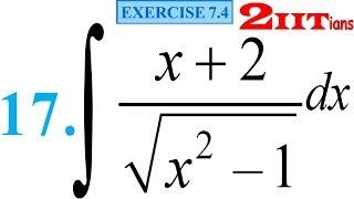 Integrals Exercise 7.4 Q 17 NCERT Class XII | IIT JEE