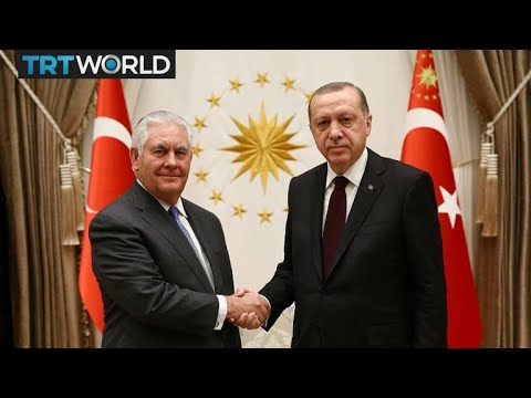 Tillerson in Turkey: Erdogan tells Tillerson Turkey's regional priorities