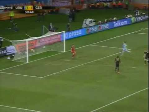 Diego Forlan Amazing Goal- Germany V Uruguay 3rd Place World Cup 2010 Highlights 3-2