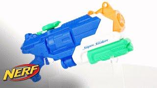 NERF U.K. - 'Super Soaker Breach Blast Blaster' Official Demo
