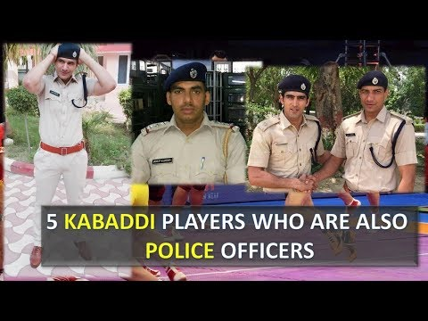 5 star players who are also police officers | Real Life Heroes | Pro Kabaddi League 2017 Season 5