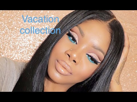 ISSA GLAM FEAT KYLIE COSMETICS TAKE ME ON A VACATION COLLECTION | MAKEUPVEEE