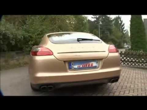 Vrum dirige o Porsche Panamera