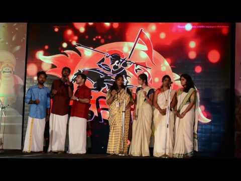 Trinfy Utsav 2016 Onam Pattu by Ashwaroodans
