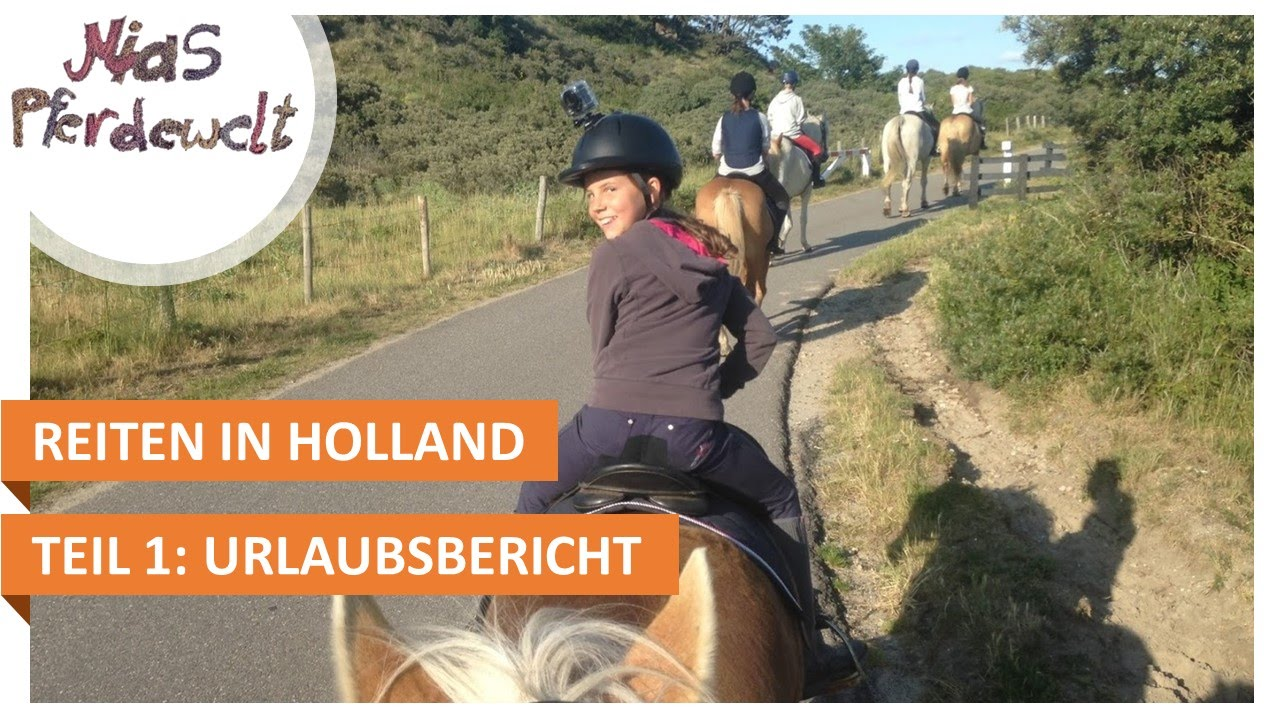 Reiten Am Strand So War Mein Urlaub In Holland Youtube