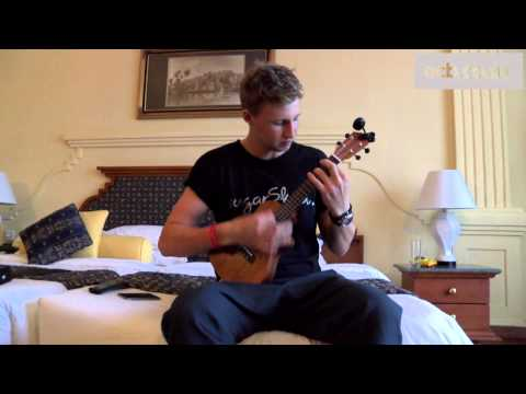 England cricketer Joe Root plays Arctic Monkeys on the ukulele