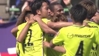 2017年5月20日(土)に行われた明治安田生命J1リーグ 第12節 甲府vs広...