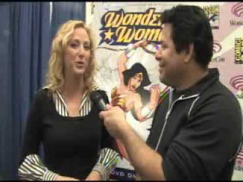 ACTRESS VIRGINIA MADSEN ON WONDER WOMAN.
