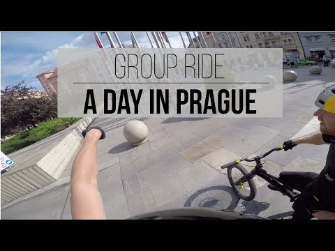 Group Ride - A Day in Prague