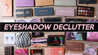 EYESHADOW PALETTES I'M THROWING OUT (& What i'm Keeping) | Jamie Paige